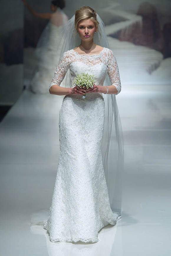 Ian Stuart Wedding Dresses A Flair For The Dramatic