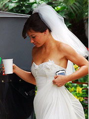 evangeline lilly is a bridal vision