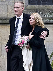 Billie Piper couple