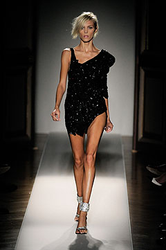 Balmain Spring/Summer 2009 :  modern womens clothing designer clothing evening