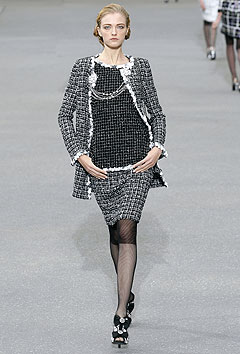 Chanel Spring/Summer 2009 :  2009 collection style clothing cocktail