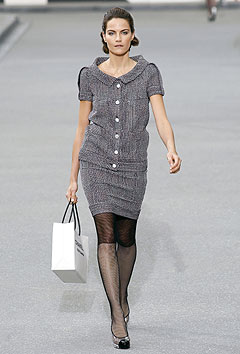 Chanel Spring/Summer 2009 :  modern evening collection evening dress