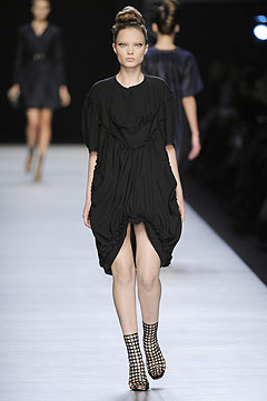 Yves Saint Laurent Spring/Summer 2009 :  modern designer clothing evening collection
