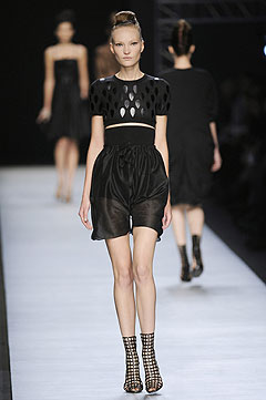 Yves Saint Laurent Spring/Summer 2009 :  2009 collection modern clothes style