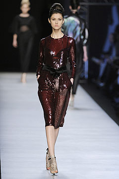 Yves Saint Laurent Spring/Summer 2009 :  luxe cocktail womens clothing womens