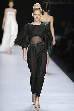 Yves Saint Laurent Spring/Summer 2009 :  chic designer fashion designer evening