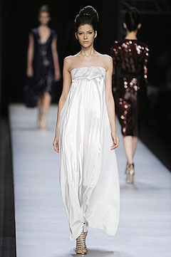 Yves Saint Laurent Spring/Summer 2009 :  hollywood glamour gown designer clothing dresses yves saint laurent