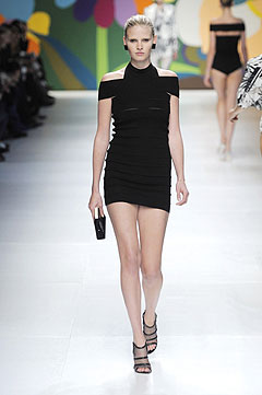 Stella McCartney Spring/Summer 2009 :  black dress clothes style clothing