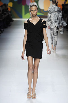 Stella McCartney Spring/Summer 2009 :  modern designer clothing evening collection
