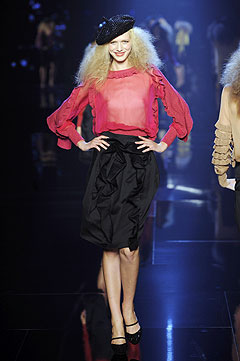 Paris Fashion Week Spring/Summer 2009 - hellomagazine.com, HELLO! :  spring paris sonia rykiel summer
