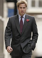 Office hunk Wills charms bankers