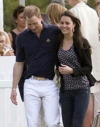 Kate And Wills Openly Affectionate At Polo On Rare Public